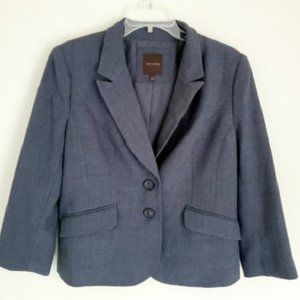 TheLimited Marled Twill Two-Button Blazer, Size XS